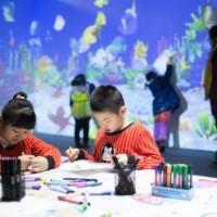 思特科技打造的儿童娱乐互动产品——魔法海洋