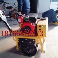 沟渠作业单轮压路机   绿化带施工压路机  排水沟渠压路机