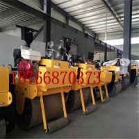 小型单钢轮手扶式压路机   手扶式柴油压路机  小型压路机多