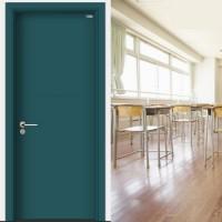 佛山钢质烤漆门厂家直销钢质教室门定制宾馆房间门工程复合门