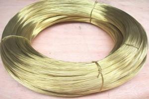 韶关国标高韧性黄铜线 黄铜丝 黄铜扁线厂家批发