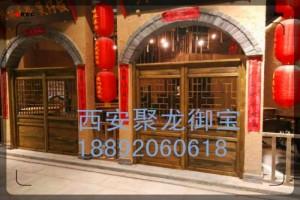 西安仿古门窗定制 松木门窗定制价格 古建门窗价格尺寸