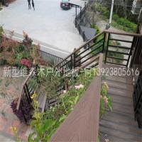惠州新型维森木户外地板14023厂家供应高端防腐地板