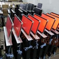 天津无纸化会议终端 优质产品 超薄液晶升降一体机 电子桌牌