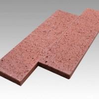 供应合肥劈开砖240*60*12通体红色外墙砖