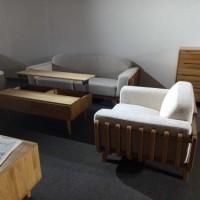 北欧白橡超大用料的实木沙发