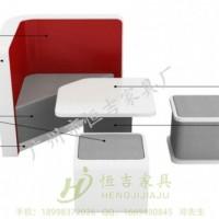 中国银行-中行营销洽谈席沙发 银行家具