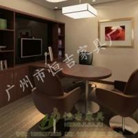 广发银行-理财经理桌 银行家具