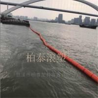水上拦污浮筒品质保障 分半挂网拦污浮排供货商推荐