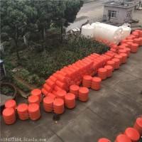 水电站拦污浮排尺寸大小 串联式自浮式拦污漂排价格公道