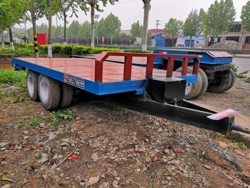草料运输全挂平板车性能参数