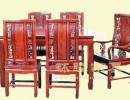 上海市供应红木家具腾龙餐台七件套