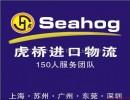 上海市上海世博会展品精密机械进口报关公司