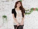 东莞容悦时尚针织假两件套 2011春夏新款 韩版女装品牌女装