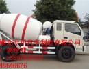 适合农村道路修建的3方4方5方水泥搅拌车