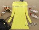 时尚针织裙秋冬裙批发热卖冬季针织裙连衣裙