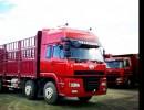 HOWO厢式货车出口刚果共和国