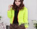 装中袖V领毛衣针织衫时尚韩版纯棉男女装装V领毛衣针织衫批发女