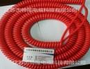 2芯1.5平方电源线螺旋电缆弹簧线