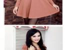 秋冬气质修身女装韩版显瘦针织女士连衣裙