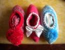 选购好的针织品围巾、鞋子-江阴盈运针织
