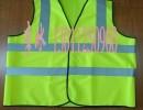 涤纶针织反光背心,涤纶梭织背心,全涤荧光网布晶格背心