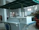 商业街花车小吃售货车铁制流动花车(图)