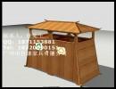 户外实木垃圾桶 木质垃圾桶 木制垃圾桶-花卉绿植-花瓶/花器
