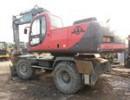 最新210轮胎式挖掘机出售,全新低报价,九成新
