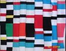 厂家直销 小循环32支棉拉架条纹色间 服装针织面料 可批发
