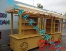 神农架生态旅游景区手推车,八佰伴百货商场展示亭,奢华售货车