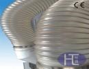 聚氨酯耐磨钢丝集尘钢丝管 pu钢丝缠绕管 PU钢丝伸缩管