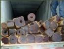 进口马达加斯加卢氏黄黑檀原木木材进口代理