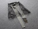 欧日韩外贸原单大牌女装批发 针织拼接蕾丝单排扣长袖开衫