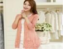 苏州新款女式V领针织衫开衫毛衣 针织衫怎么洗