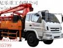 青岛科尼乐集团重汽25米泵车