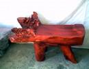 老挝红酸枝茶桌丨红酸枝多功能茶桌丨红酸枝根雕茶几丨红酸枝休闲