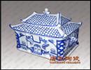 厂家定做陶瓷骨灰盒 高档殡葬用品