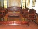 老挝大红酸枝 交趾黄檀 11件套沙发 东阳红木家具