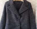 小时代3杨幂同款2015新款羊毛呢大衣茧型外套