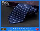 订做2015年春夏领带新款 广州涤丝提花LOGO领带