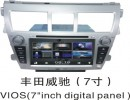 丰田老威驰DVD导航一体机专车专用14款新威驰车载导航