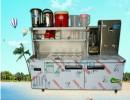 哪里有卖奶茶店专业冷藏展示柜的,雪克台,咖啡台,水槽保鲜工作