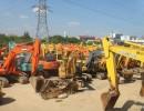 二手轮胎式挖掘机