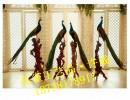 安阳酒店会所别墅办公室开业礼品软装孔雀工艺品改善风水河南厂家