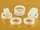 3圈环粉色国际品牌陶瓷戒指配件氧化锆高精密度介子配饰加工批发