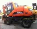 转让斗山150-7二手轮胎挖掘机