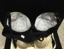 侧收聚拢文胸 磁疗保健文胸 三排扣厚杯 刺绣内衣上托