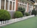 深圳深创新恒安pvc塑钢草坪护栏