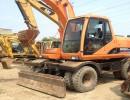 出售  2013年二手精品斗山150-7轮胎挖掘机